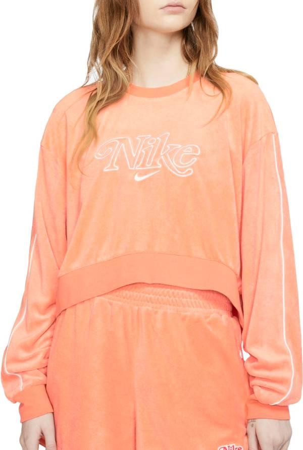 Nike Women's Retro Femme Terry Cropped Crew Sweatshirt product image