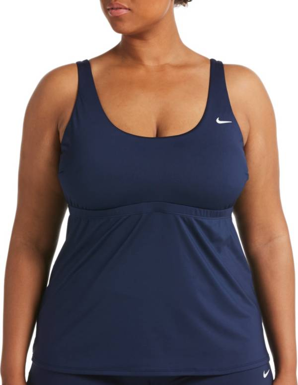 Nike Women's Plus Size Essential Scoop Neck Tankini Top product image