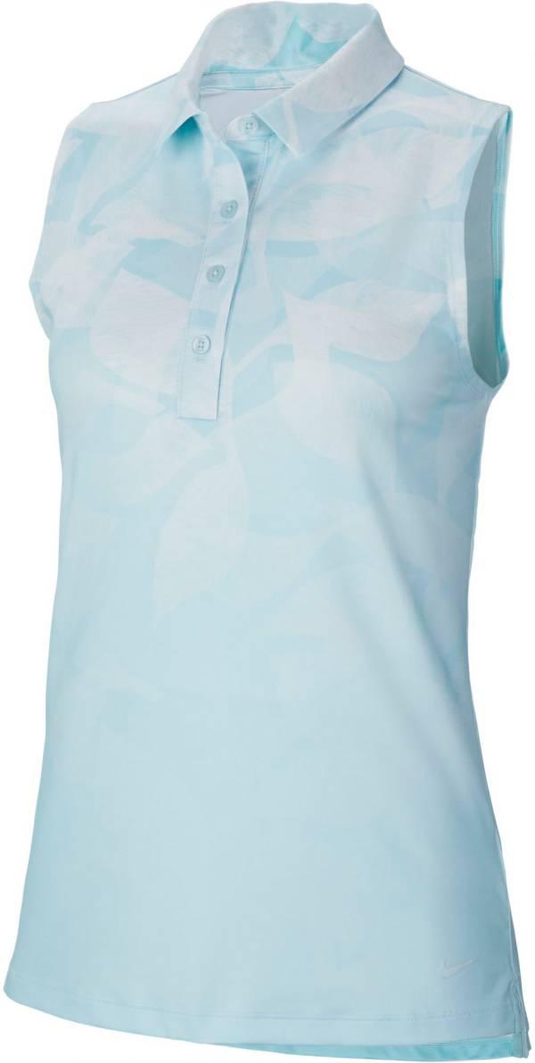 Nike Women's Dri-FIT Freeway Sleeveless Printed Golf Polo product image