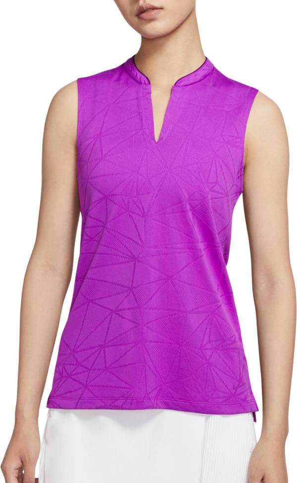 Nike Women's Jacquard Sleeveless Golf Polo product image