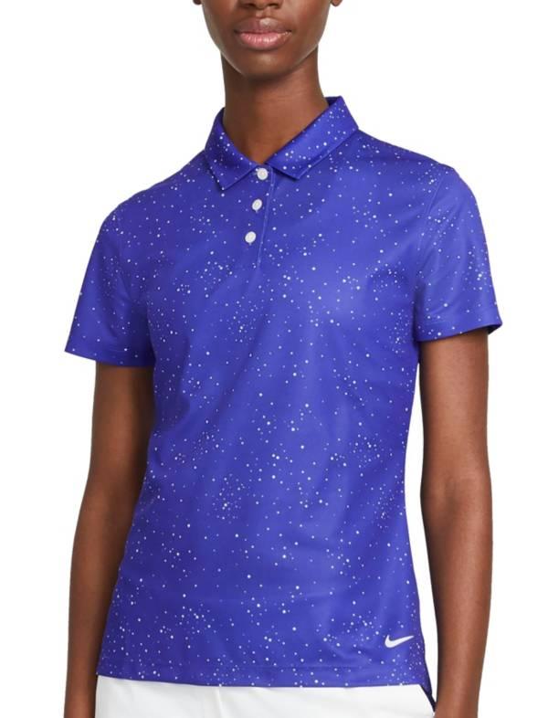 Nike Women's Dot Print Short Sleeve Golf Polo product image