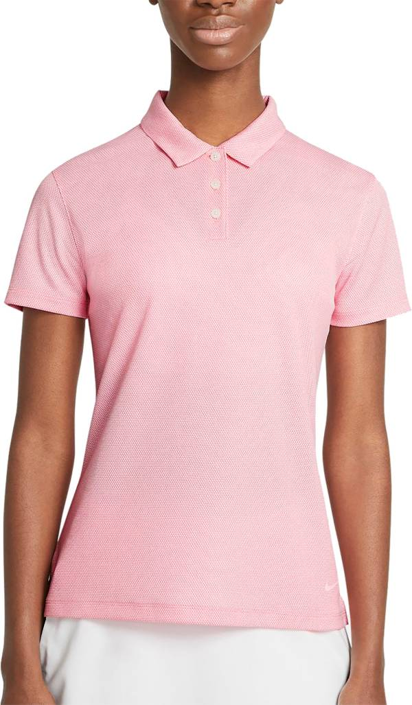 Nike Women's Dri-FIT Victory Textured Short Sleeve Golf Polo product image