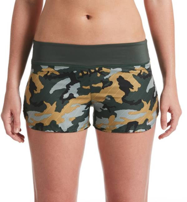 Nike Women's Camo Swim Board Shorts product image