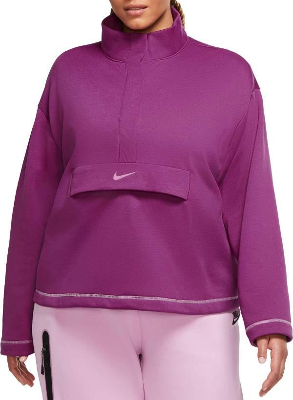Nike Women's Sportswear Swoosh 1/2 Zip Fleece Top product image
