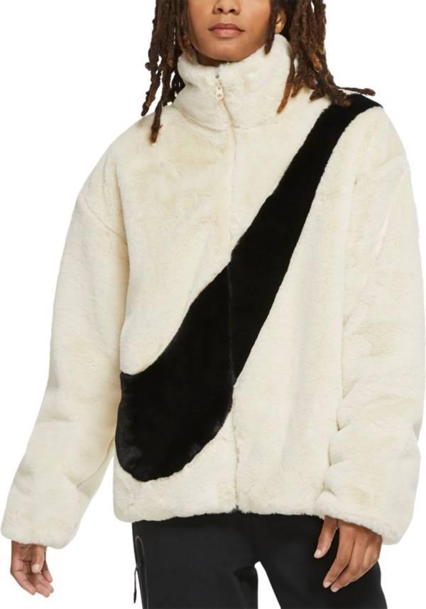 Nike Women's Sportswear Faux Fur Full-Zip Jacket product image