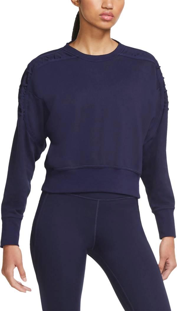 Nike Women's Fleece Cropped Crewneck Training Sweatshirt product image