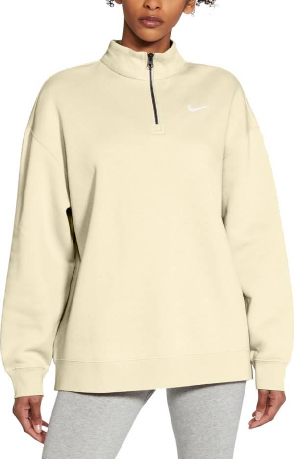 Nike Women's Sportswear ¼ Zip Fleece Pullover product image