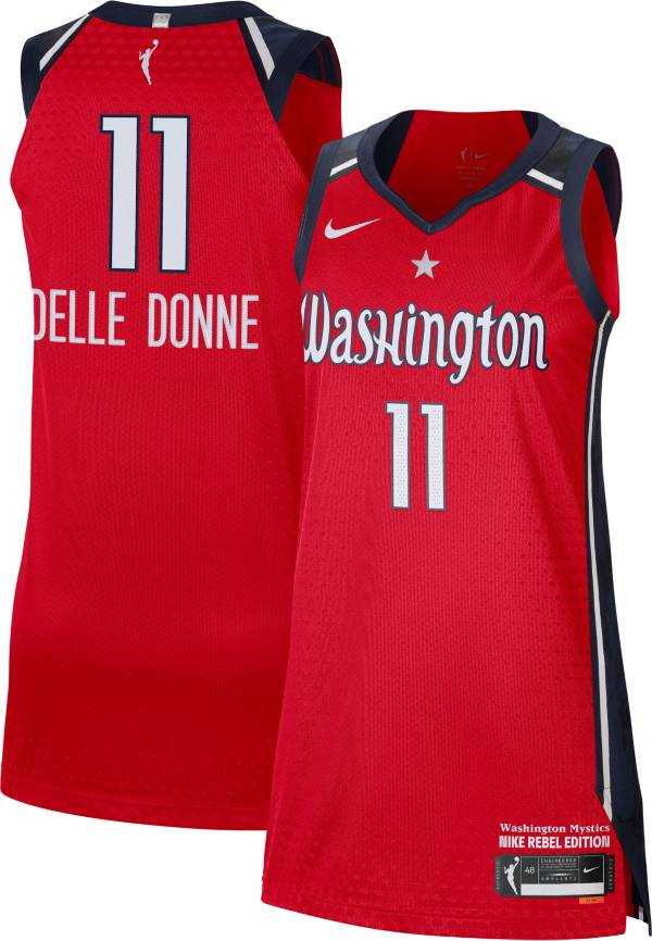Nike Adult Washington Mystics Elena Delle Donne Red Authentic Jersey product image
