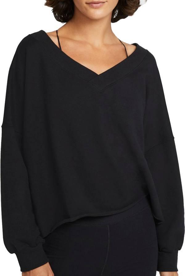 Nike Women's Yoga Off Mat Fleece Long Sleeve Top product image