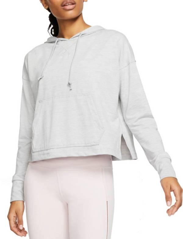 Nike Women's Yoga Jersey Cropped Hoodie product image