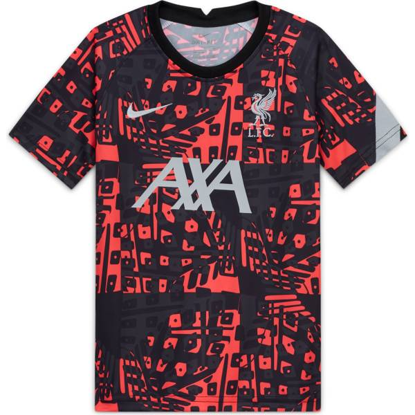 Nike Youth Liverpool Black Pre-Match Jersey product image