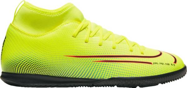 Nike Kids' Mercurial Superfly 7 Club MDS Indoor Soccer Shoes product image