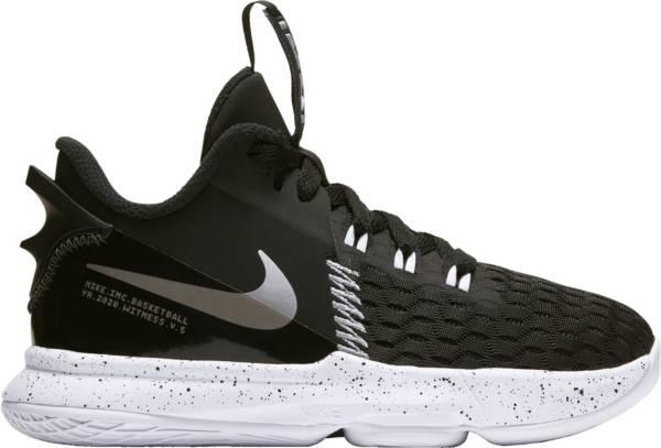 Nike Kids' Preschool LeBron Witness 5 Basketball Shoes product image