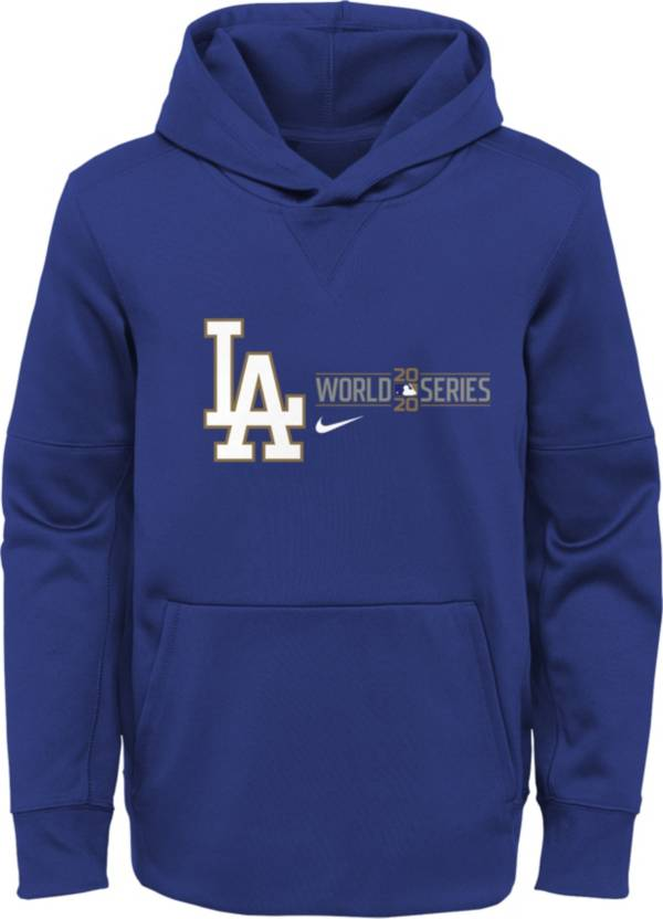 Nike Youth 2020 World Series Participant Los Angeles Dodgers Pullover Hoodie product image