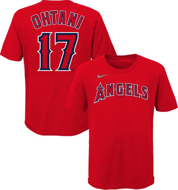 Nike Youth Los Angeles Angels Shohei Ohtani #17 Red T-Shirt product image