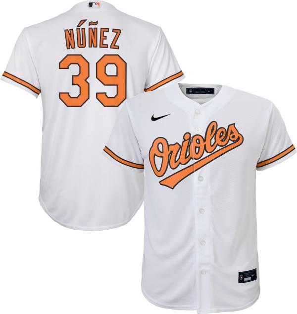Nike Youth Replica Baltimore Orioles Renato Nunez #39 Cool Base White Jersey product image