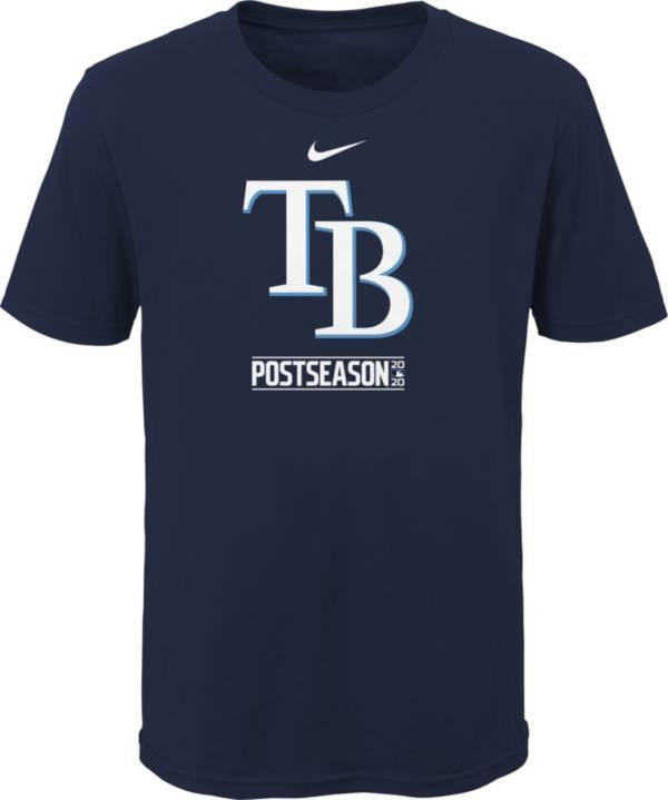Nike 2020 Youth Postseason Tampa Bay Rays Navy T-Shirt product image