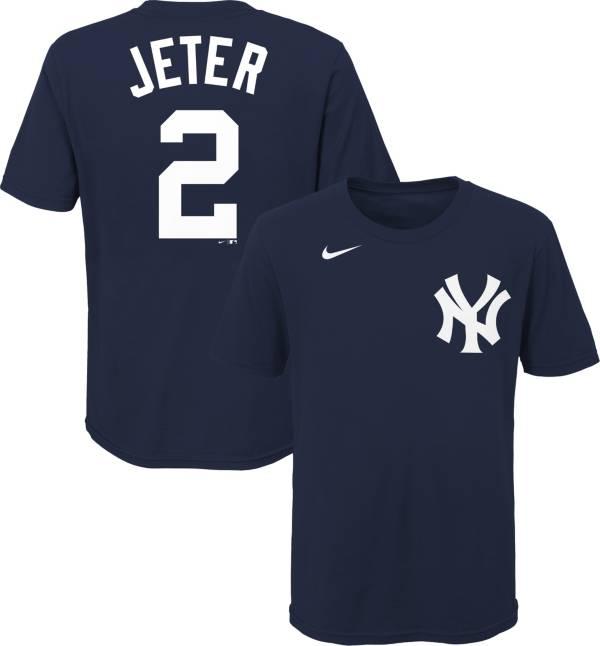 Nike Youth New York Yankees Derek Jeter #2 Navy T-Shirt product image