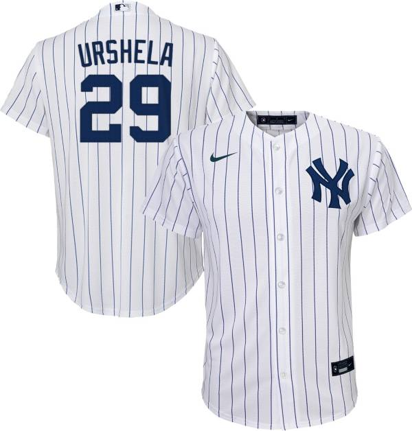 Nike Youth Replica New York Yankees Gio Urshela #29 Cool Base White Jersey product image