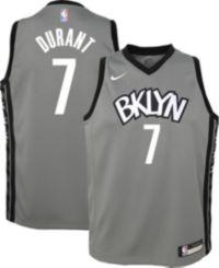 Costume De Basket-Ball pour Hommes XSJY Brooklyn Nets # 7 Hommes Kevin Durant Jersey White City /Édition Basket-Ball Mesh Swingman Jersey,L:175~180cm//75~85kg