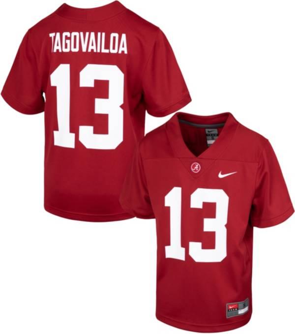 Nike Youth Replica Alabama Crimson Tide Tua Tagovailoa #13 Crimson Jersey product image