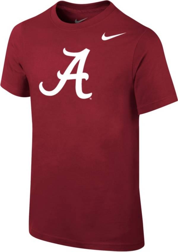 Nike Youth Alabama Crimson Tide Crimson Core Cotton T-Shirt product image