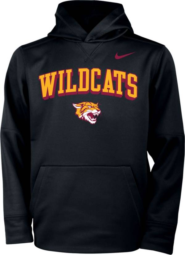 Nike Youth Bethune-Cookman Wildcats Therma Pullover Black Hoodie product image