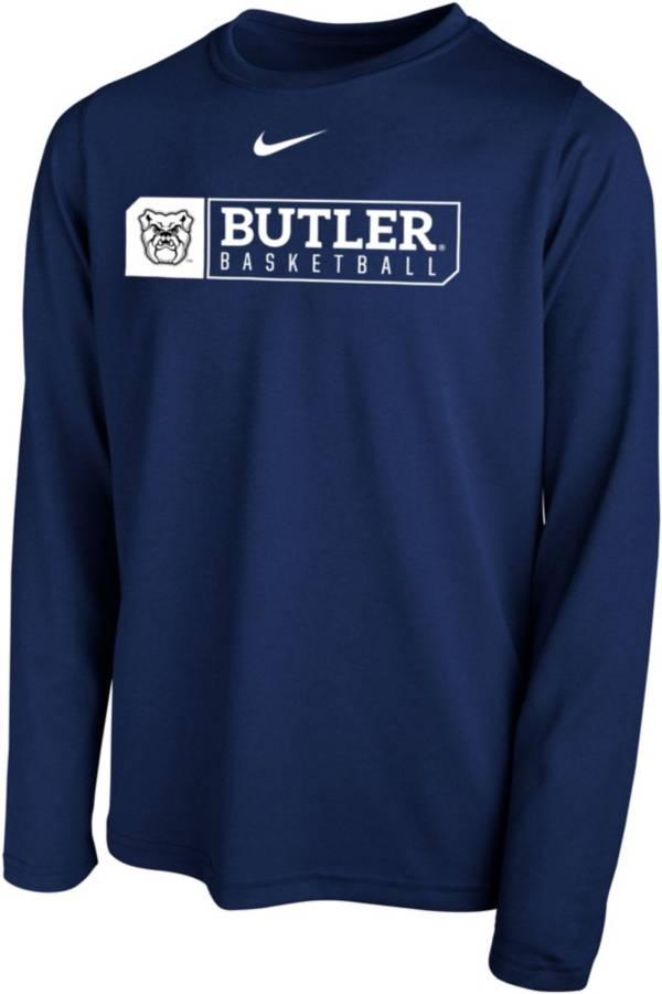 Nike Youth Butler Bulldogs Blue Legend Basketball Long Sleeve Tee product image