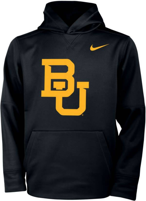 Nike Youth Baylor Bears Therma Logo Black Hoodie product image