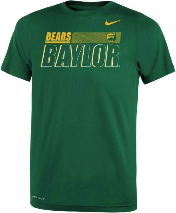 Nike Youth Baylor Bears Green Dri-FIT Legend Performance T-Shirt product image