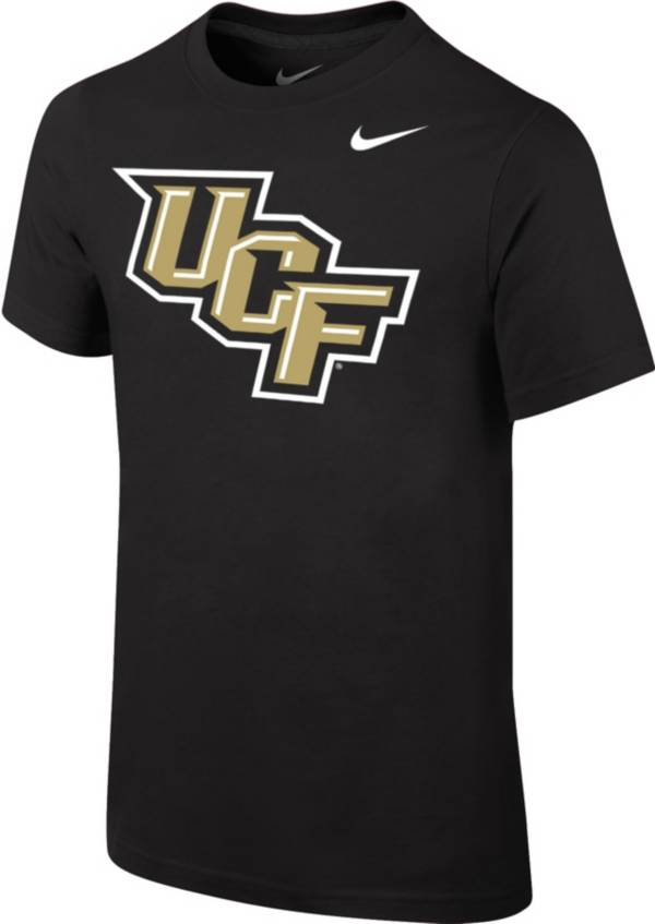 Nike Youth UCF Knights Core Cotton Black T-Shirt product image