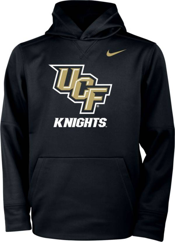 Nike Youth UCF Knights Therma Pullover Black Hoodie product image