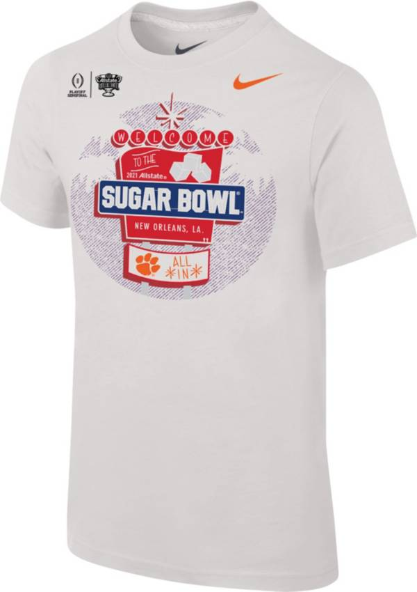 Nike Youth Clemson Tigers 2021 Allstate Sugar Bowl Bound T-Shirt product image