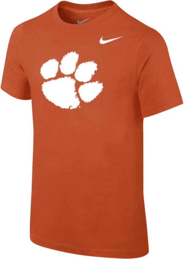 Nike Youth Clemson Tigers Orange Core Cotton T-Shirt product image