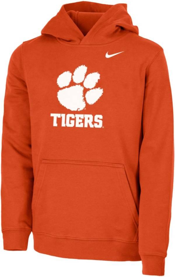 Nike Youth Clemson Tigers Orange Club Fleece Pullover Hoodie product image