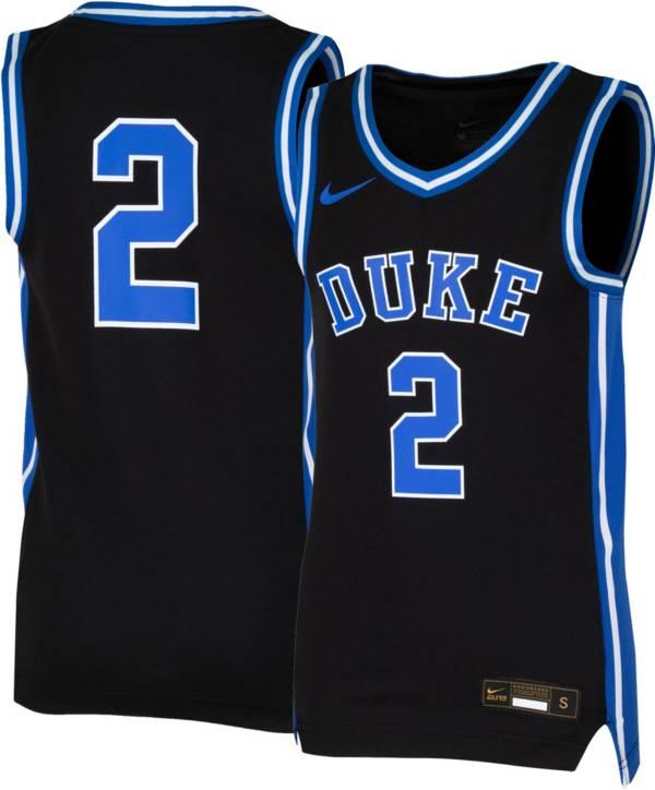 Nike Youth Duke Blue Devils #2 Black Replica Basketball Jersey product image