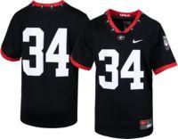 georgia bulldogs football black jersey