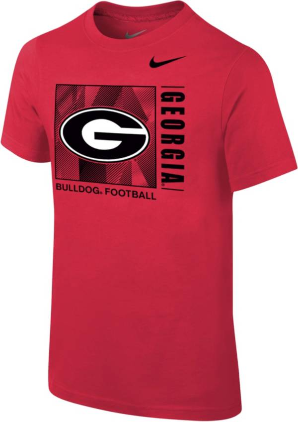 Nike Youth Georgia Bulldogs Red Core Cotton T-Shirt product image