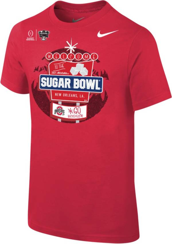 Nike Youth Ohio State Buckeyes 2021 Allstate Sugar Bowl Bound T-Shirt product image