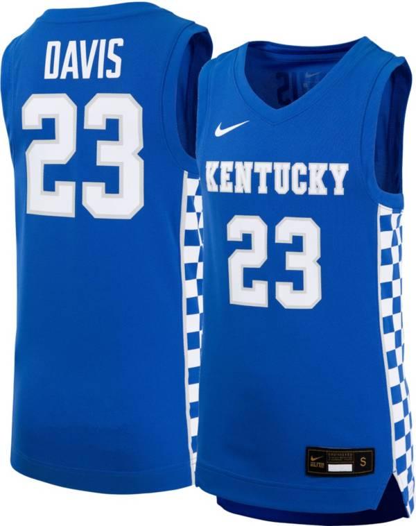 Nike Youth Anthony Davis Kentucky Wildcats #23 Blue Replica Basketball Jersey product image