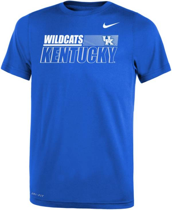 Nike Youth Kentucky Wildcats Blue Dri-FIT Legend Performance T-Shirt product image