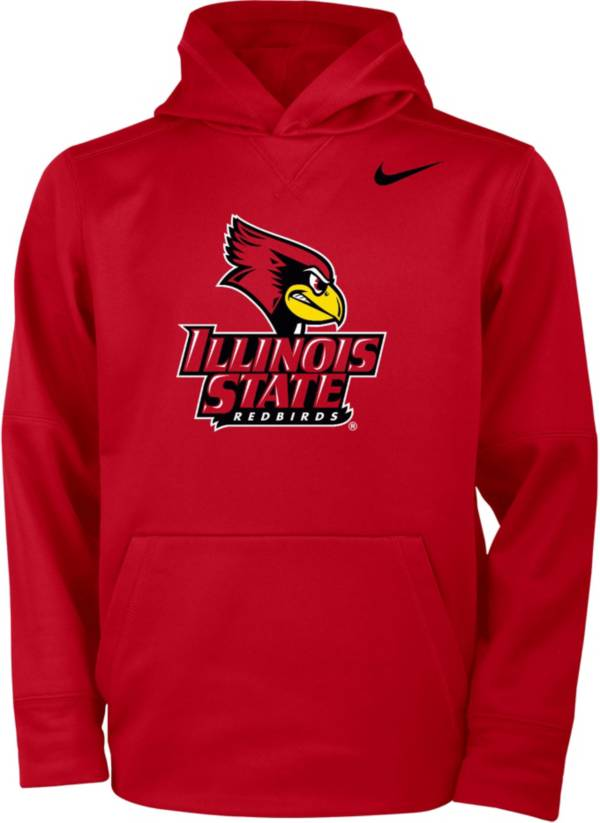 Nike Youth Illinois State Redbirds Red Therma Pullover Hoodie product image