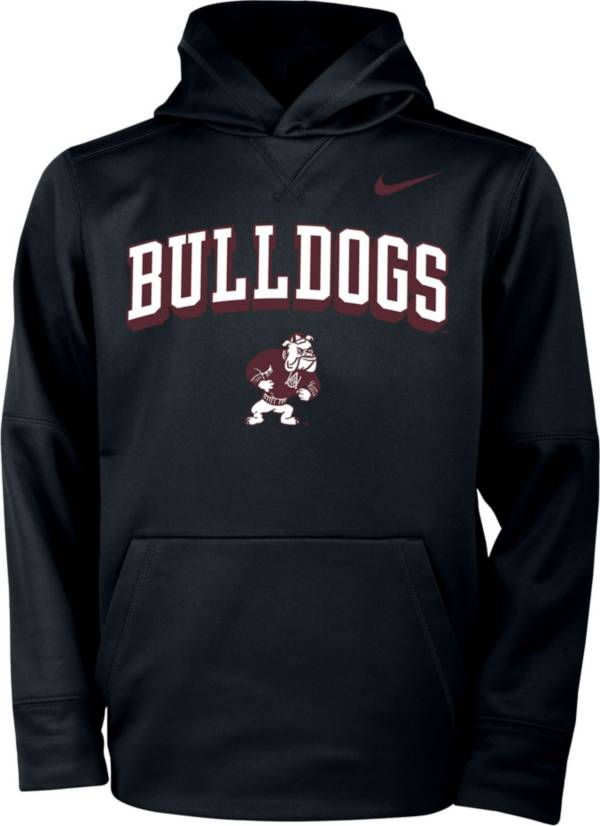 Nike Youth Alabama A&M Bulldogs Therma Pullover Black Hoodie product image