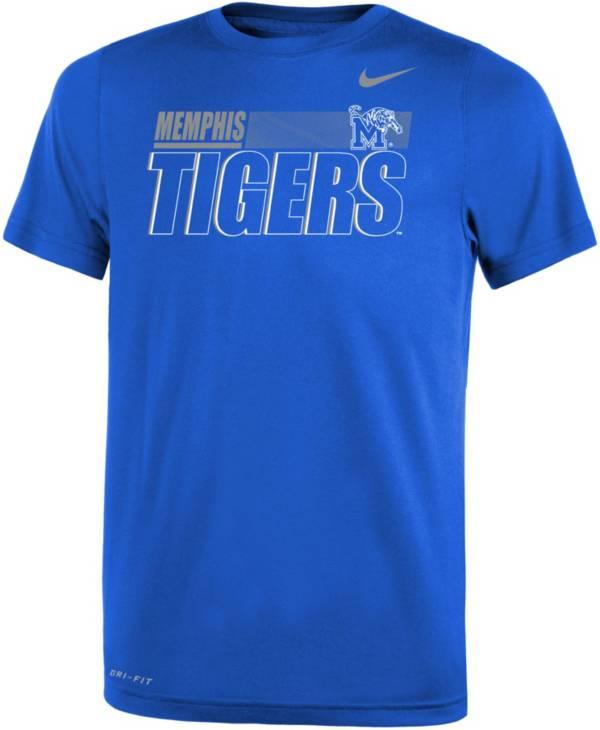 Nike Youth Memphis Tigers Blue Dri-FIT Legend Performance T-Shirt product image