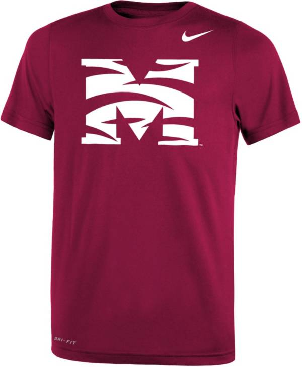 Nike Youth Morehouse College Maroon Tigers Maroon Legend Performance T-Shirt product image