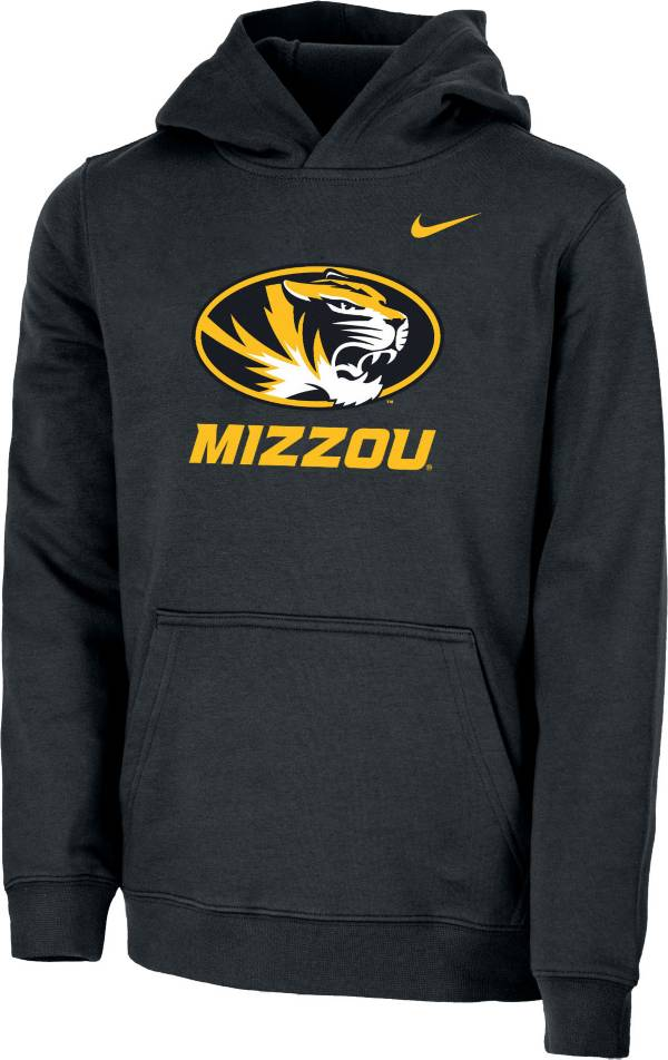 Nike Youth Missouri Tigers Club Fleece Pullover Black Hoodie product image