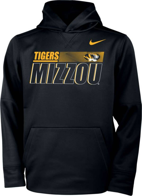 Nike Youth Missouri Tigers Therma Pullover Black Hoodie product image