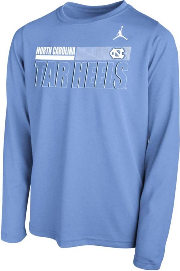 Nike Youth North Carolina Tar Heels Carolina Blue Legend Long Sleeve Performance T-Shirt product image