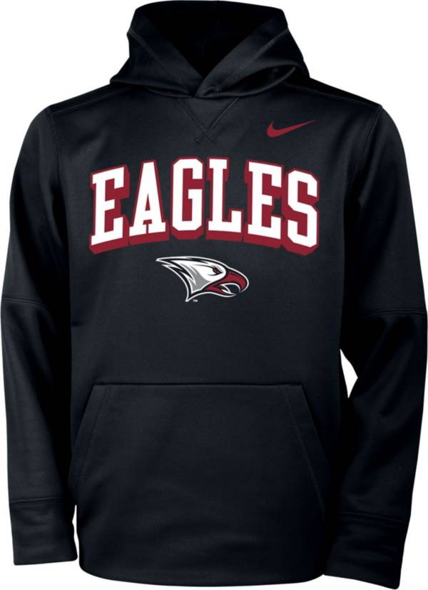 Nike Youth North Carolina Central Eagles Therma Pullover Black Hoodie product image
