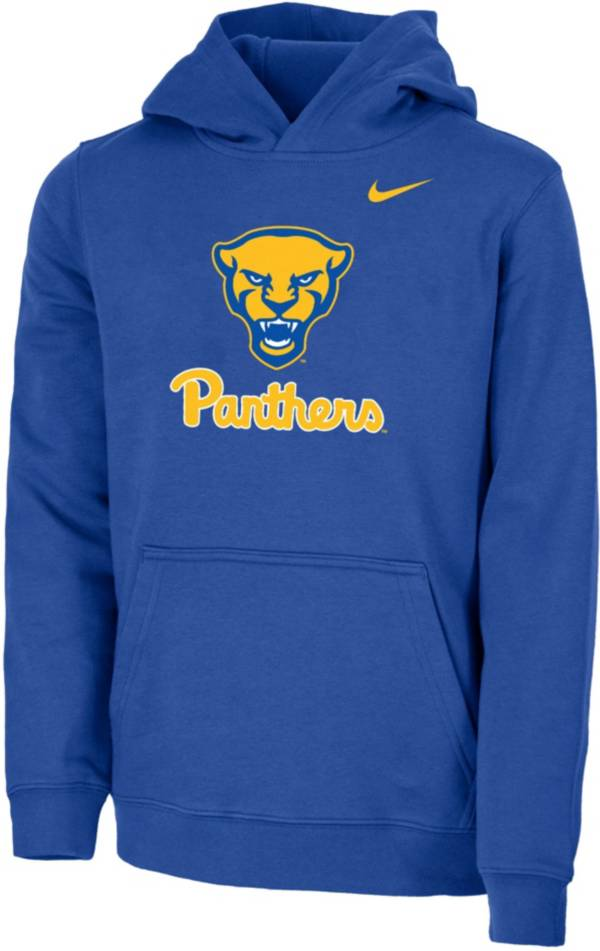 Nike Youth Pitt Panthers Blue Club Fleece Pullover Hoodie product image